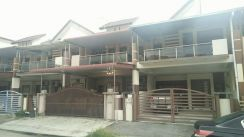2 storey terrace house for sale at Bandar Cyber