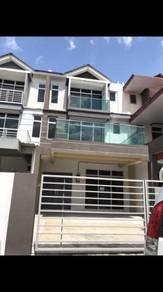 Selasih Town, 3 Storey Terrace, House For Sale