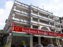 5 storey banquet hall with parking lot for sale