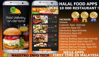 Multi Food Mobile Apps