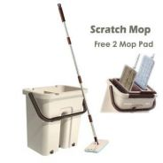 FB146 Multi-functional Scratch Mop (Wash & Dry)