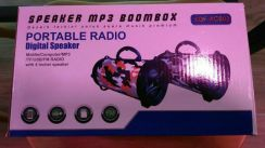 Portable speaker mp3 boombox