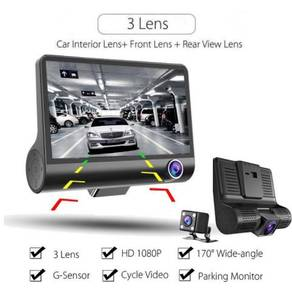 1080P 3 Lens G-sensor HD Car DVR Dash Cam Video Re