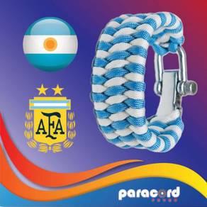 Limited Argentina Paracord Bracelet World Cup 2018