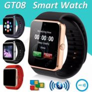 GT08 Sim Card Android Bluetooth Camera Smart Watch