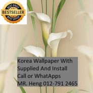 Beautiful In Wall paper with Installation67g