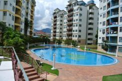 King height apartment corner lot for sale in Ipoh