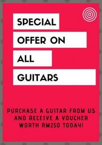 Special Offer on Nashville Guitars
