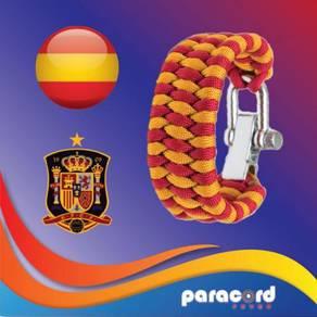 Limited Spain Paracord Bracelet World Cup 2018