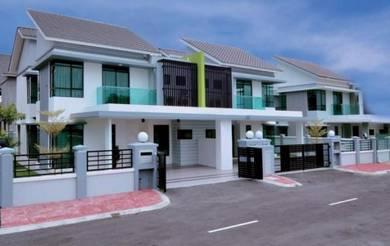 [0% GST House] 22x80 Double Storey Superlink nearby Putrajaya area