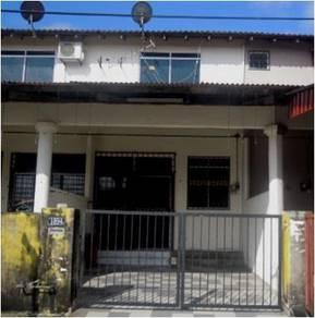 Kemaman, Double storey medium cost terraced house
