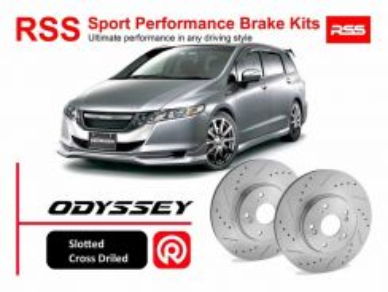 Honda Odyssey RB4 RB3 RSS Sport Disc Brake Pad Kit