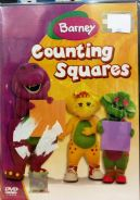 DVD Barney Counting Squares