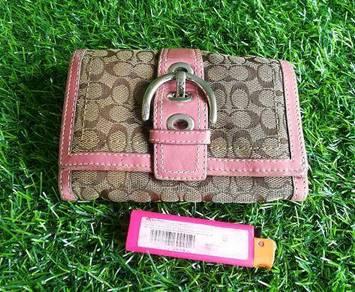 Authentic COACH wallet kueii