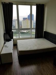 Zetapark 1 bedroom corner SEMI FURNISHED KLCC view