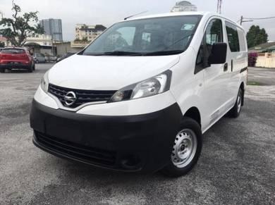 Nissan nv200 1.6 mt 2014 semi panel can chg panel