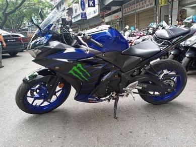YAMAHA R25 (best bike,tip top),senang loan