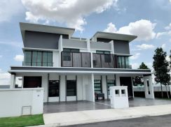 New Double Storey Cluster House in JB FREEHOLD JOHOR BAHRU