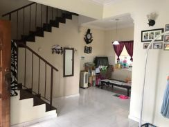 Seri alam, Jln Bayu, 1.5 storey terrace house(Lower price)