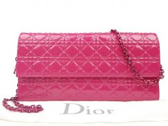 Christian Dior Patent Leather Lady Dior Croisiere