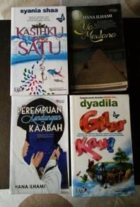 Novel Melayu (Used)