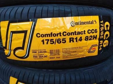 175/65/14 Continental CC6 Tyre 2019 Tayar