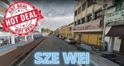 HOT DEAL 2 Storey Commercial At Lebuh Dickens 2500 Sq.ft Georgetown