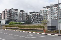 Cosy & homey apartment unit for rent P Residence Batu Kawa Emart