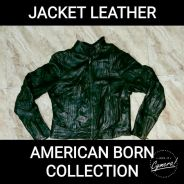 Jacket Leather American Born