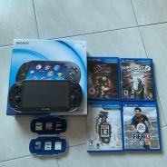 Ps Vita(FREE 10 GAMES & 20GB MEMORY CARD)