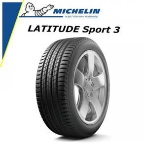 Michelin latitude sport 3 235/55/19 new tyre tayar