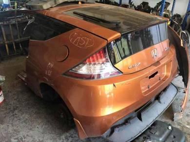 Honda CRZ rear cut