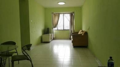 Full Loan Nusa Perdana Apartment, Gelang Patah, Block D, 2 Car Park