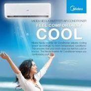 1.0hp aircond midea anti bacterial *promotion