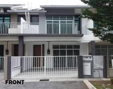 2.5 Storey House D'Mawar Residensi,22x70sft Taman Mawar Sepang