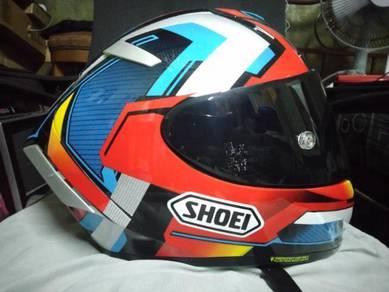 Shoei x14 Fullface helmet