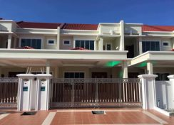 Double storey terrace, Forlion Merdeka Mall Miri