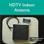 HDTV indoor outdoor antenna uhf decoder mytv