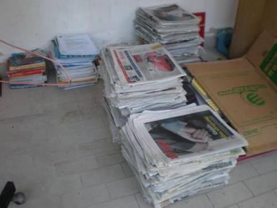Membeli surat khabar lama Tlk Intan/Hutan Melintng