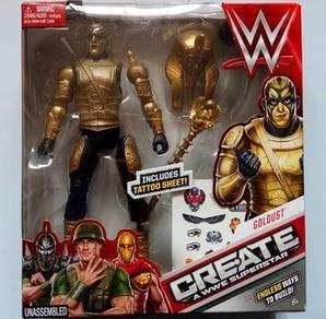 Goldust Create Tattoo Sheet WWE Superstar toy