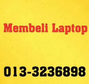 Membeli Laptop 2nd Terpakai Setiap Masa CASH ready
