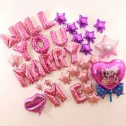 'WILL YOU MARRY ME' Foil Balloons Wedding Party
