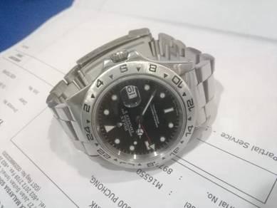 Rolex Explorer 2 ref 16550 Black Dial