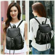 Backpack , colour : black  For sale