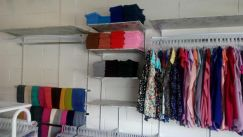 Boutique Shelve Board With Hanging Bar