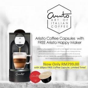 Arissto italian premium capsule coffee