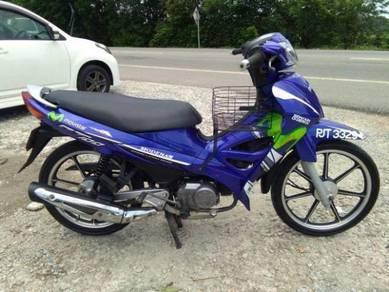 Modenas CT-100 starter biru cantik