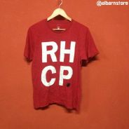 Baju band RHCP RED HOT CHILI PEPPERS t shirt