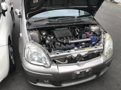 Halfcut Toyota vitz ncp13 1nz turbo manual trd