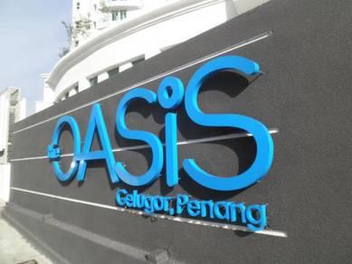 The oasis condo 1 car park